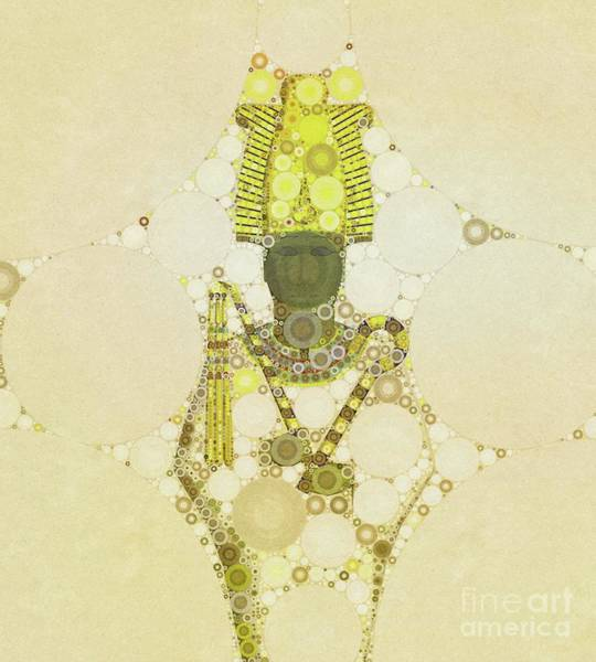 Egypt Digital Art - Osiris, God Of Egypt By Mb by Mary Bassett