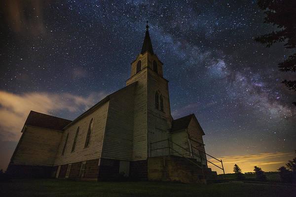 Photograph - Oslo Milky Way  by Aaron J Groen