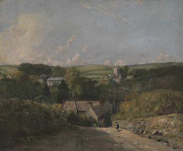 Painting - Osmington Village by John Constable