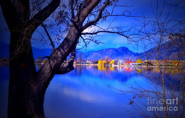 Photograph - Osoyoos Lake Blues by Tara Turner