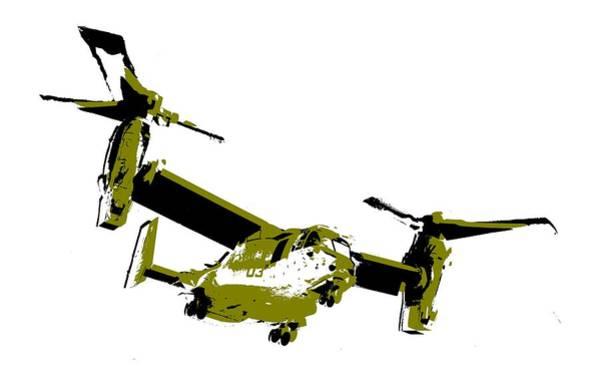 Digital Art - Osprey by Piotr Dulski