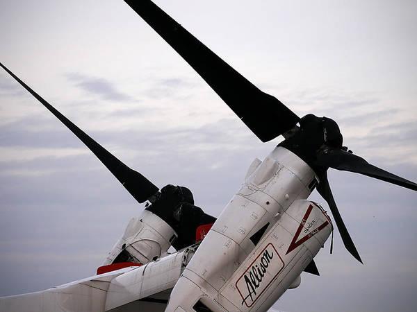 Photograph - Osprey Tiltrotor by Richard Reeve