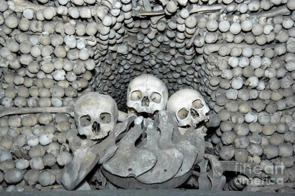 Wall Art - Photograph - Ossuary by Michal Boubin