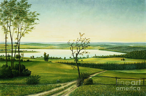 Wall Art - Painting - Osterseen by Georg Schrimpf