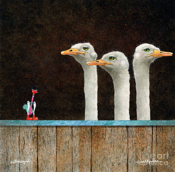 Wall Art - Painting - Ostracized... by Will Bullas