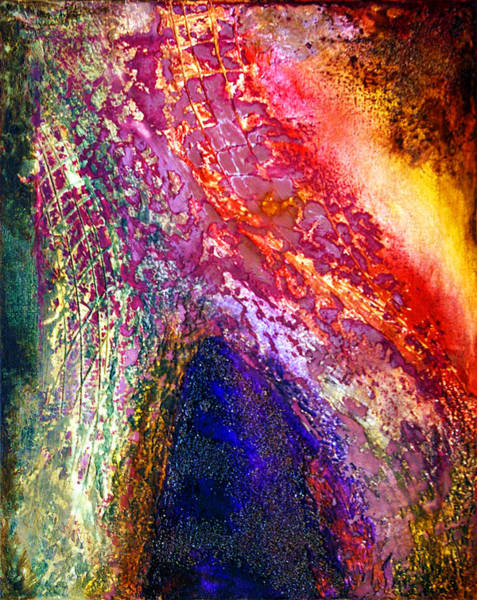 Wall Art - Painting - Other Dimension#1 by Leyla Munteanu
