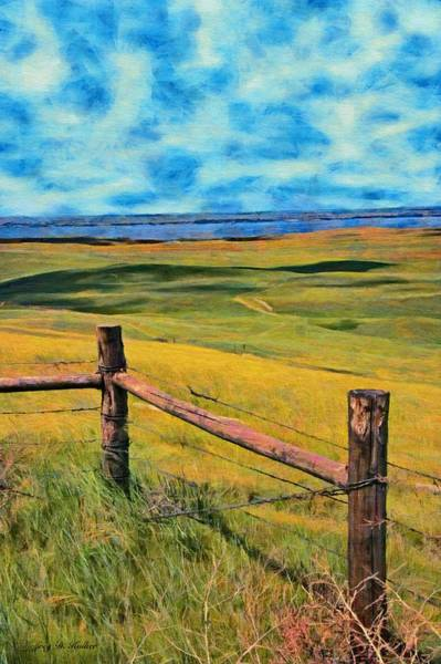 Painting - Other Side Of The Fence by Jeffrey Kolker