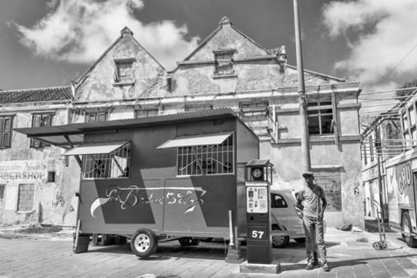 Photograph - Otrobanda Curacao Barber Shop by For Ninety One Days