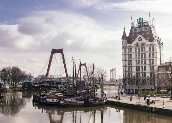 Photograph - Oudehaven, Rotterdam, Netherlands by Alexandre Rotenberg