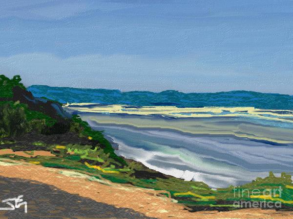 Wall Art - Digital Art - Our Bay Time by Julie Grimshaw