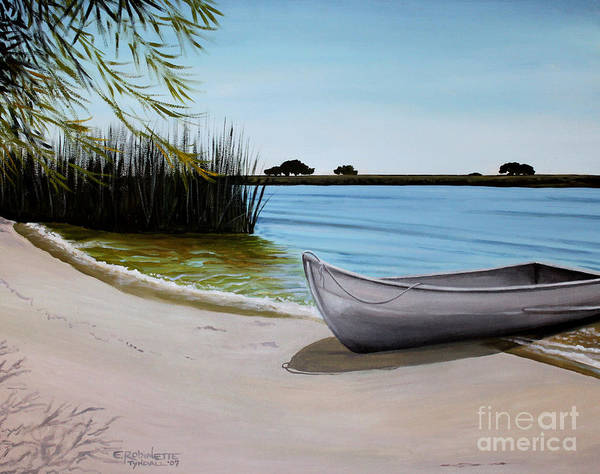 Painting - Our Beach by Elizabeth Robinette Tyndall