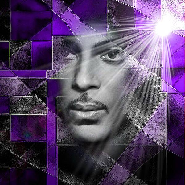 Our Beautiful Purple Prince Art Print