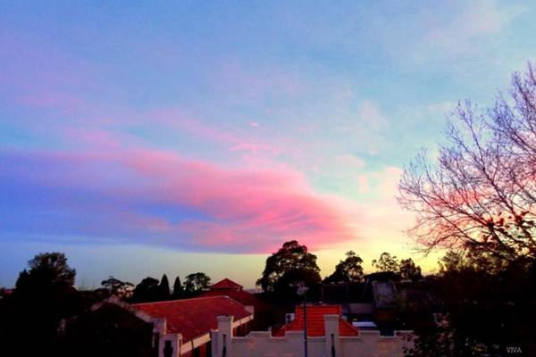 Photograph - Our Cloud Sunset 12-08 by VIVA Anderson