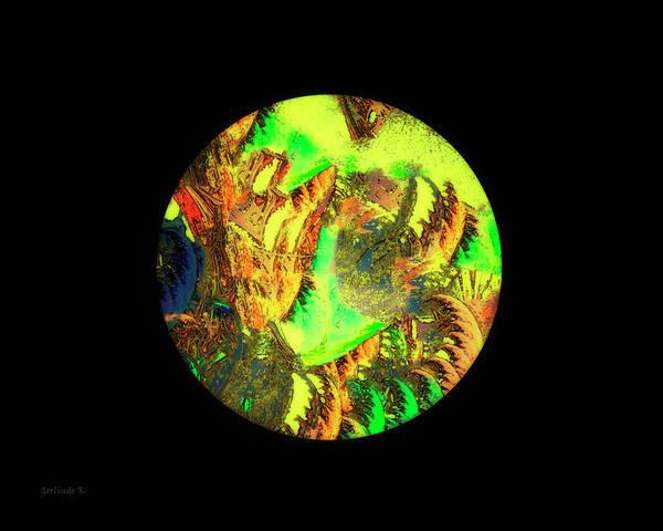 Digital Art - Our Colorful World by Gerlinde Keating - Galleria GK Keating Associates Inc