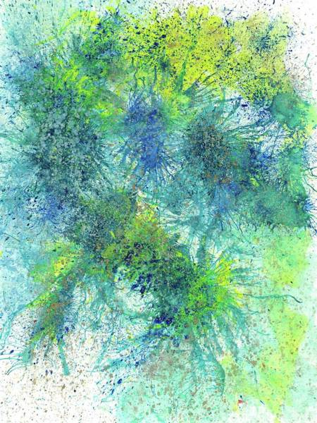Brain Cell Painting - Our Earth Is Always Breathing #532 by Rainbow Artist Orlando L