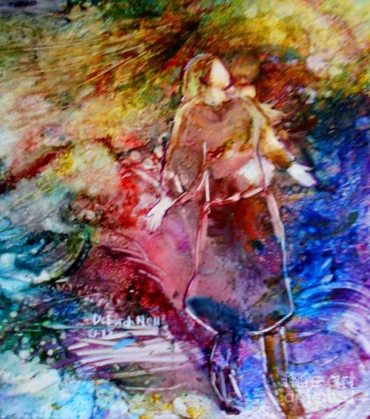 Painting - Our God Is An Awesome God by Deborah Nell