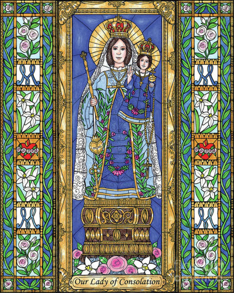 Painting - Our Lady Of Consolation by Brenda Nippert