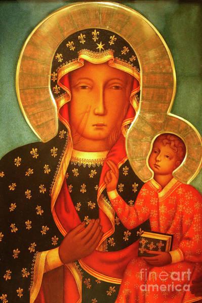 Poland Painting - Our Lady Of Czestochowa  by Polish School