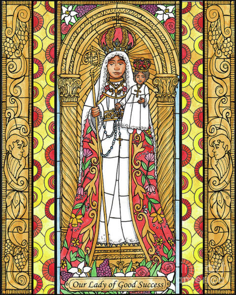 Painting - Our Lady Of Good Success by Brenda Nippert