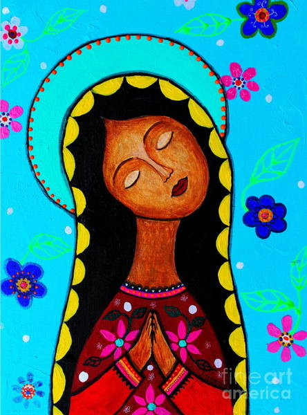 Painting - Our Lady Of Guadalupe II by Pristine Cartera Turkus