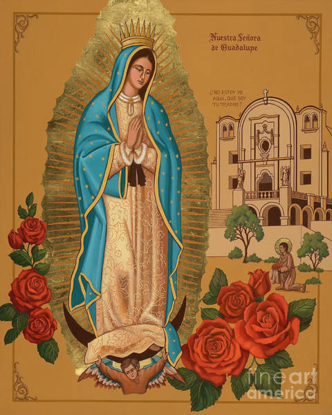 Painting - Our Lady Of Guadalupe - Jcogd by Joan Cole