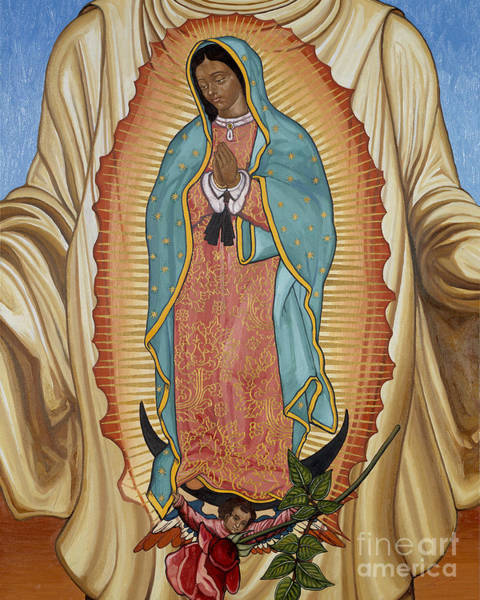 Painting - Our Lady Of Guadalupe - Lwgaj by Lewis Williams OFS