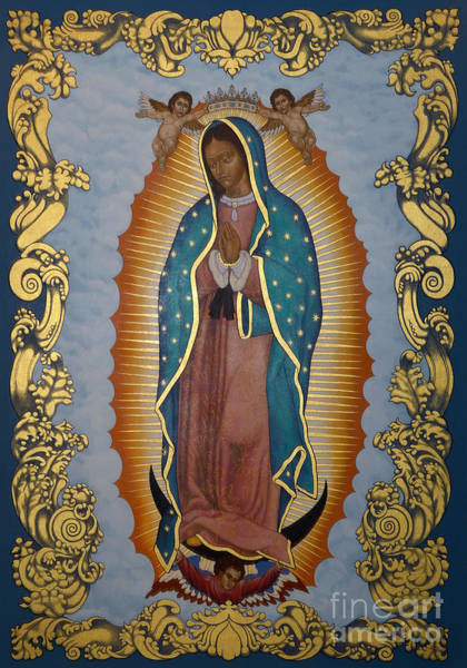 Painting - Our Lady Of Guadalupe - Lwlgl by Lewis Williams OFS