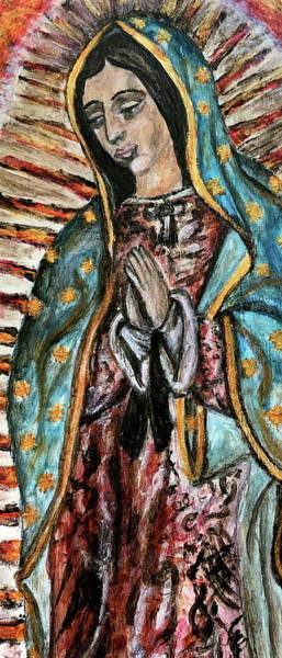 Wall Art - Painting - Our Lady Of Guadalupe by Mikayla Ruth Koble