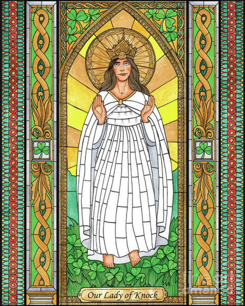 Painting - Our Lady Of Knock by Brenda Nippert