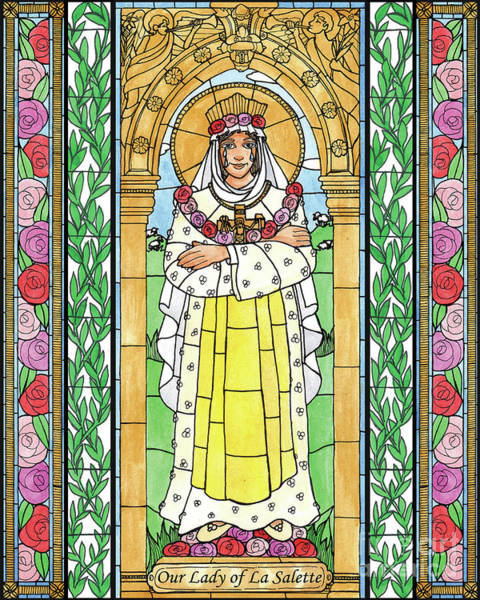 Painting - Our Lady Of La Salette by Brenda Nippert