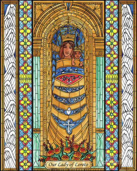 Painting - Our Lady Of Loreto by Brenda Nippert