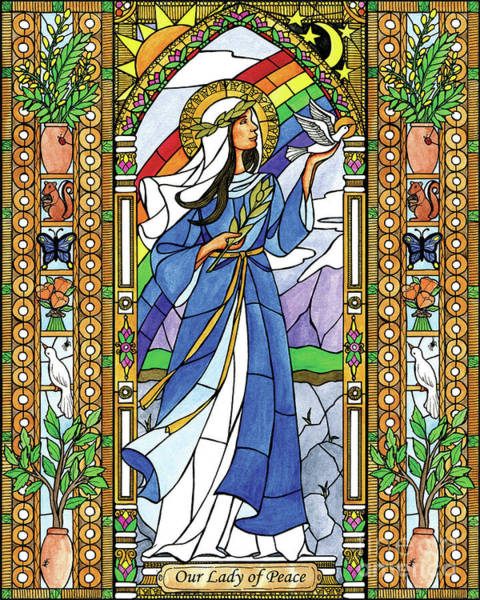 Painting - Our Lady Of Peace by Brenda Nippert