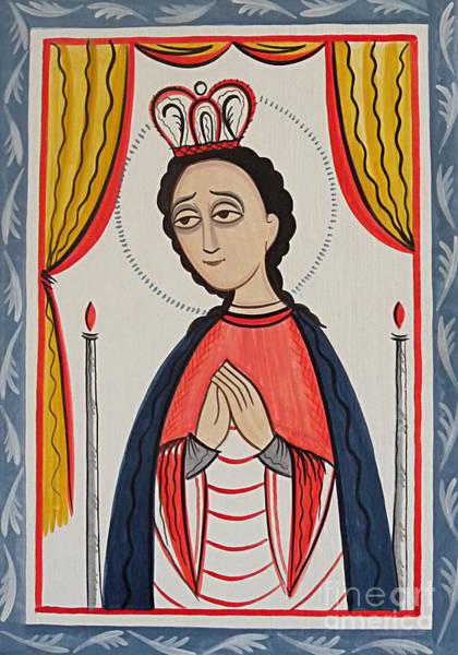 Lagos Painting - Our Lady Of San Juan De Los Lagos - Aojul by Br Arturo Olivas OFS
