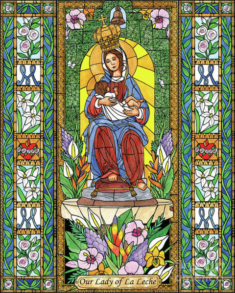 Painting - Our Lady Of The Milk by Brenda Nippert