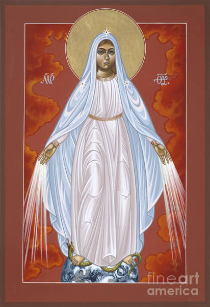 Painting - Our Lady Of The Miraculous Medal 061 by William Hart McNichols
