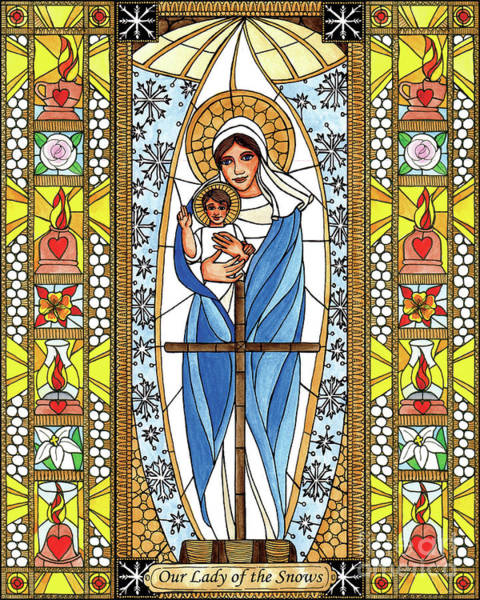 Painting - Our Lady Of The Snows by Brenda Nippert