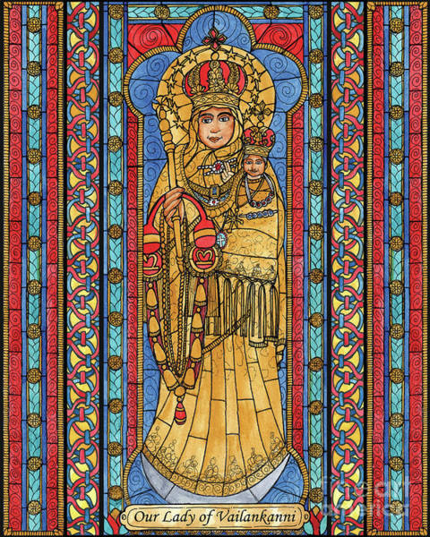 Painting - Our Lady Of Vailankanni by Brenda Nippert