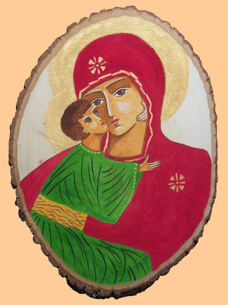 Painting - Our Lady Of Vladimir by Vera  Smith