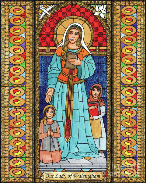 Painting - Our Lady Of Walsingham by Brenda Nippert