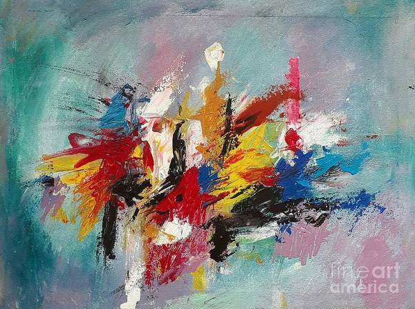 Wall Art - Painting - Our Life by Sudumenike Wijesooriya