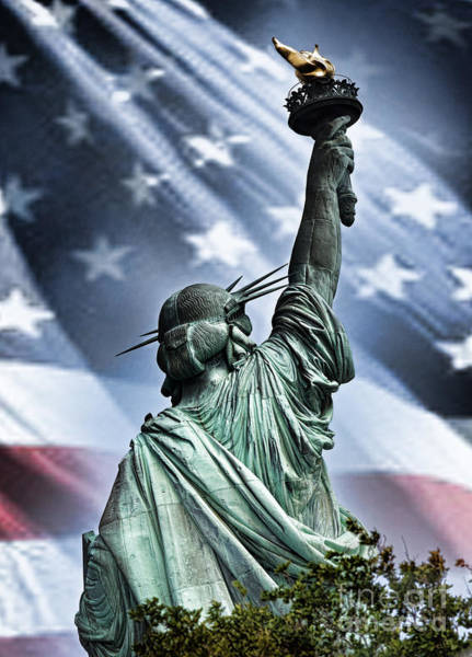 Wall Art - Photograph - Our Statue Of Liberty by Jim Fitzpatrick