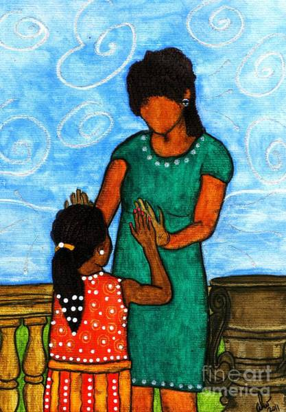 Wall Art - Painting - Our Time by Angela L Walker