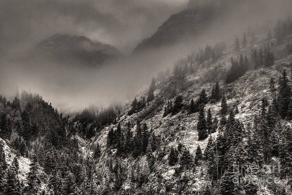 High Dynamic Range Digital Art - Ouray In Chinese Brush IIi by William Fields