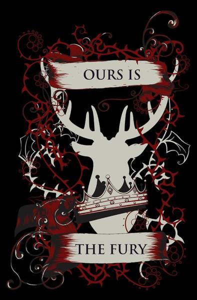 Ours Is The Fury Art Print