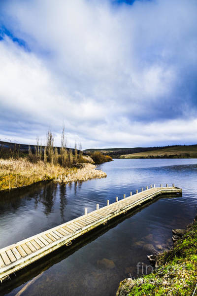 Photograph - Ouse Fishing Pier by Jorgo Photography - Wall Art Gallery