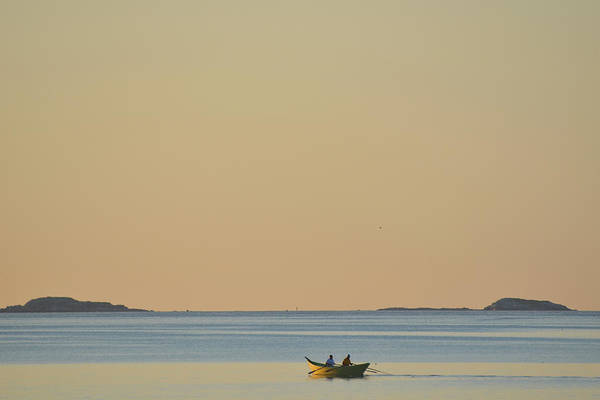 Photograph - Out For A Morning Row Beverly Ma by Toby McGuire