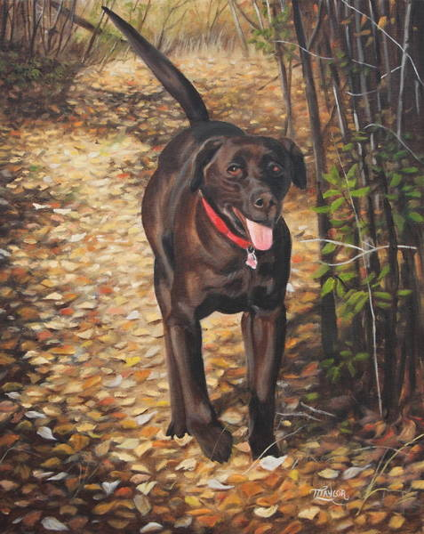 Painting - Out For A Walk #1 by Tammy Taylor