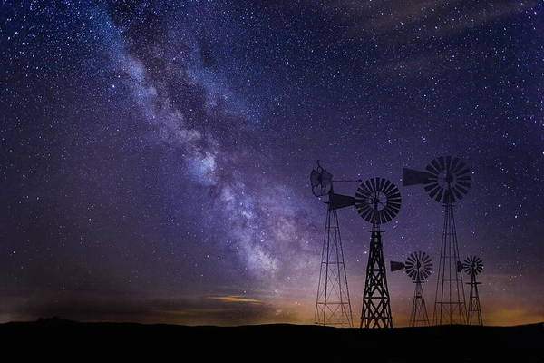 Art Print featuring the photograph Our Milky Way  by Andrea Kollo