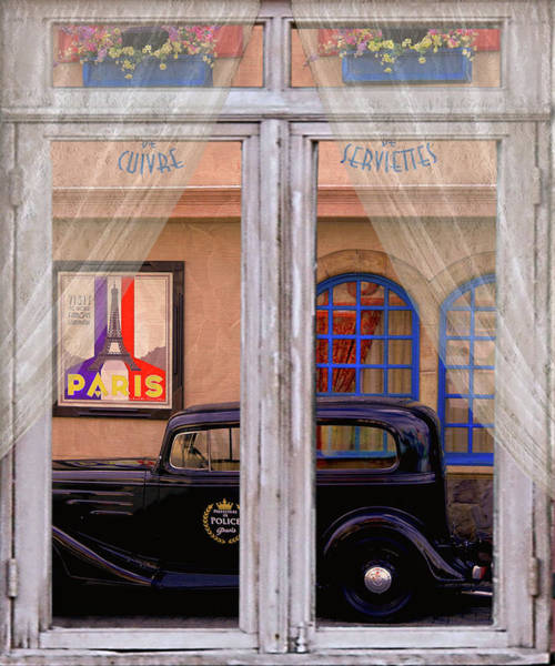 Wall Art - Photograph - Out My Window - Paris by Jeff Burgess