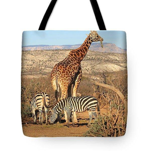 Wall Art - Photograph - Out Of Africa - Tote by Donna Kennedy
